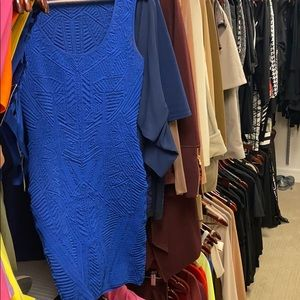 Blue RVN mini dress